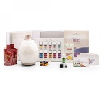 Young Living Oils Premium Starter Kit with Desert Mist Diffuser