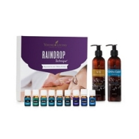 Raindrop Technique Essential Oil Collection